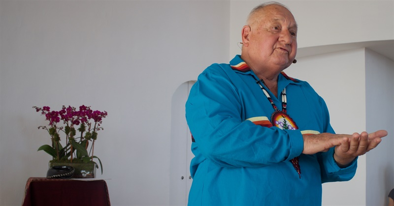 Tom Porter (Mohawk), a Nationally Recognized Figure in Indian Country, Receives Lifetime Achievement Award