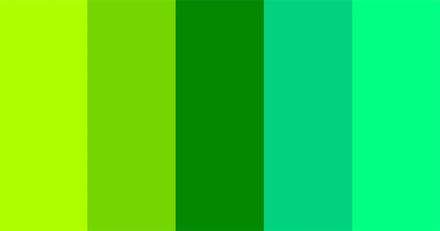 What Shade of Green Are You?