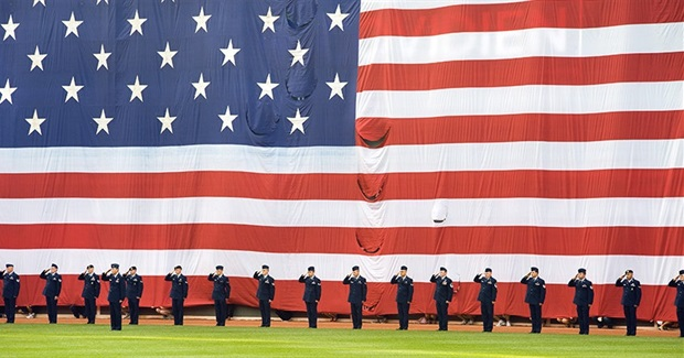 How America's Sporting Events Have Turned into Mass Religious Events to Bless Wars and Militarism
