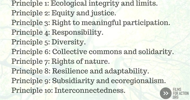 10 Principles of Radical Ecological Democracy: A Way to Achieve Global Human Happiness Without Destroying the Planet