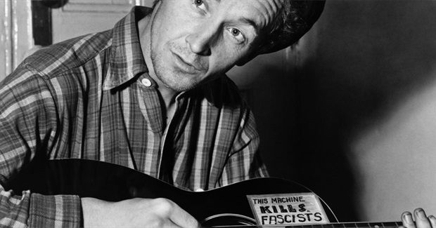 In Another Newly Discovered Song, Woody Guthrie Continues His Assault on 'Old Man Trump'