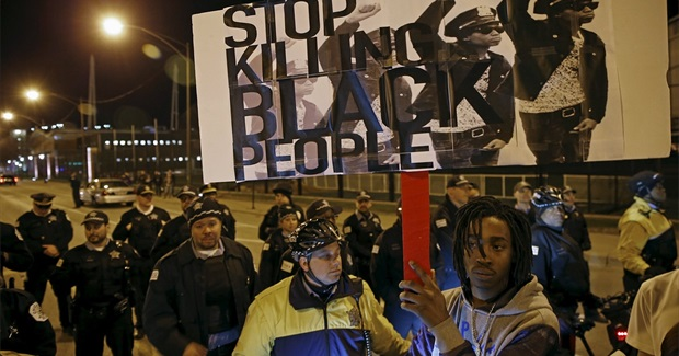 Young Black Men Killed by US Police at Highest Rate in Year of 1,134 Deaths