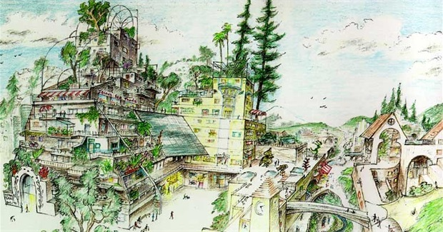The Ecocity Visions of Richard Register. Or: How to Retrofit Your Downtown for True Sustainability