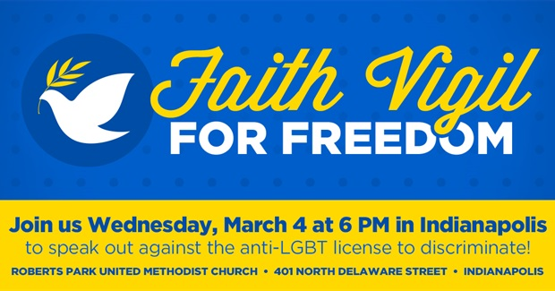 ​Join Us for a Faith Vigil in Indianapolis