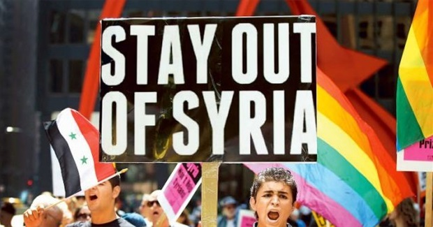 Opposition to Iraq War May Save Syria