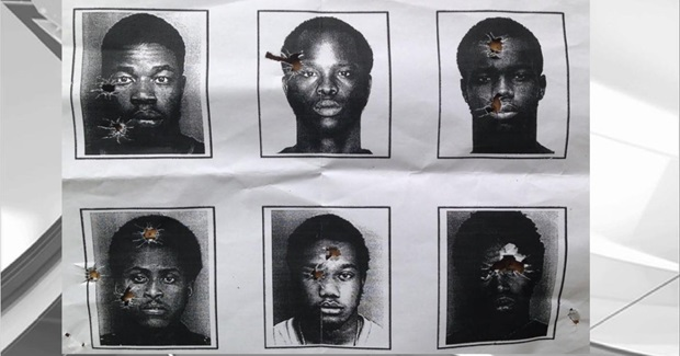 Family Outraged After Police Use Criminal Photos as Targets