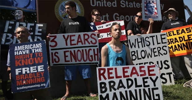Campain ends torturous treatment of Bradley Manning!