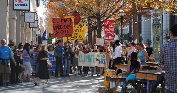 Climate Coalition Vows 'Peaceful, Escalated' Actions Until 'We Break Free From Fossil Fuels'