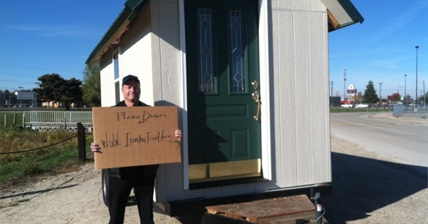 Local Man Builds Tiny Homes as Solution to Boise Homeless Situation