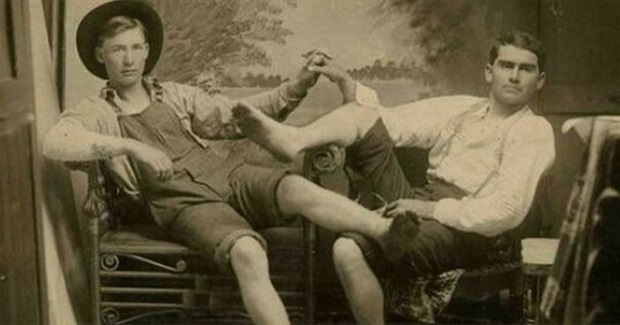 Bosom Buddies: A Photo History of Male Affection