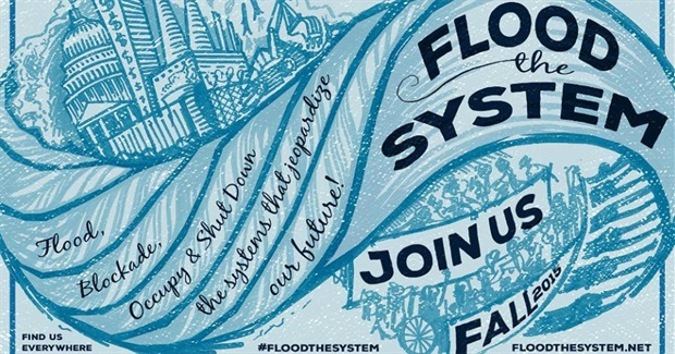 Get Ready: Protesters Vow to 'Flood the System' for Climate and Planetary Justice