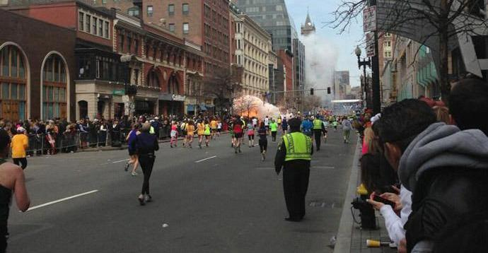 At least two killed in Boston Marathon blasts, multiple injuries, unexploded devices reported