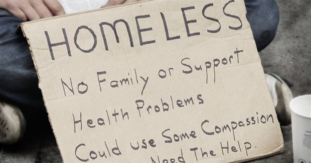 Homeless legislation rejected