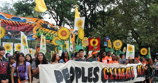 Front-Lines Communities Rising Up: Dispatches from People's Climate