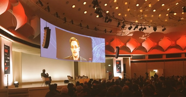 Edward Snowden: 'We Must Seize the Means of Communication' to Protect Basic Freedoms