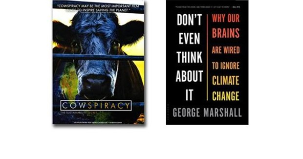 Time to Act! - Cowspiracy Screening + Book Discussion 'Don't Even Think About It- Why Our Brains Are Wired to Ignore Climate Change'