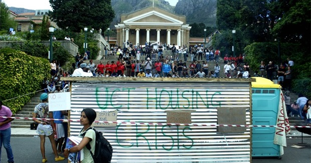 South African Students Still Struggling for Equality and Justice
