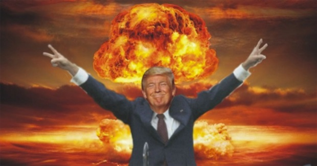 A 'No Nukes' Nation to Trump: Resign!