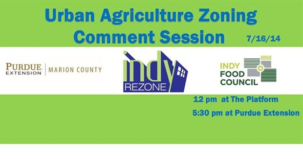 Urban Ag Zoning Comment Sessions