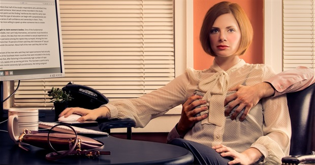 Photo Series Depicts Women's Experience of Male Entitlement