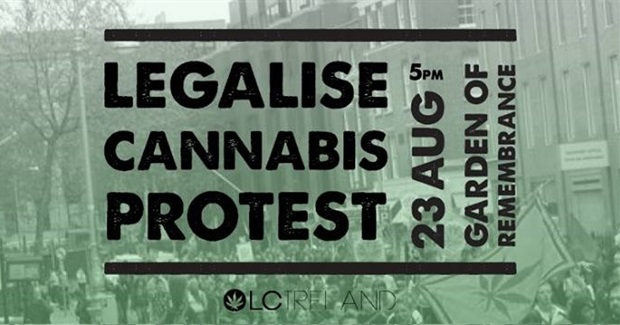 2014 Legalise Cannabis Protest