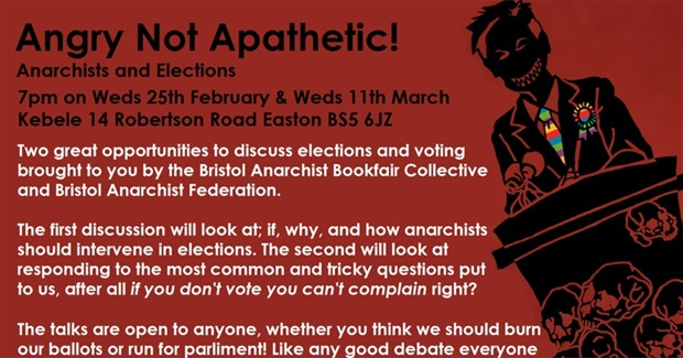 Angry Not Apathetic - Anarchists and Elections