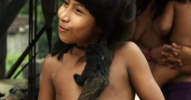 Near-Extinct Amazonian Tribe so Connected With Nature They Reportedly Breastfeed Animals