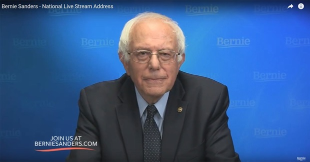 The Complete Text of Bernie Sanders' Livestream Address, June 16th, 2016