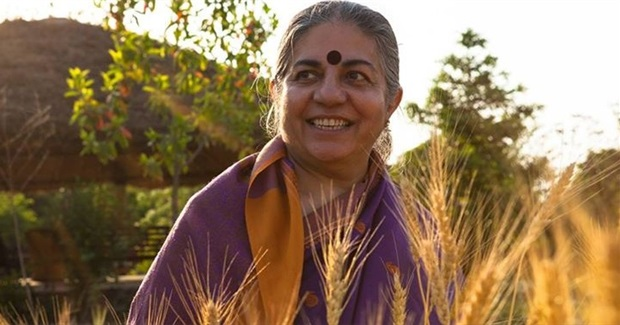 "Dr. Vandana Shiva ""Cultivating Diversity, Freedom and Hope"""