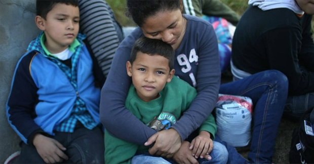 Children Caught in Sweep as Feds Begin Mass Deportations