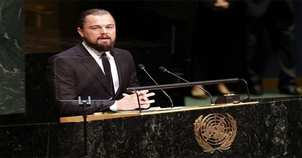 DiCaprio's Censored UN Thinky-Speech