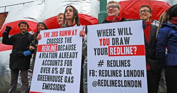 I'm Proud of My Daughter and the Other Brave Heathrow Protesters