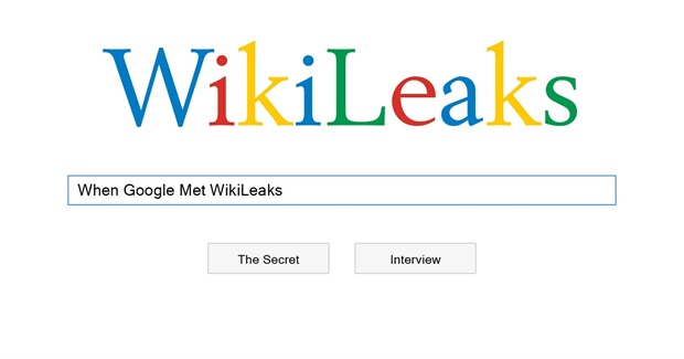 Book Review: 'When Google Met WikiLeaks' by Julian Assange