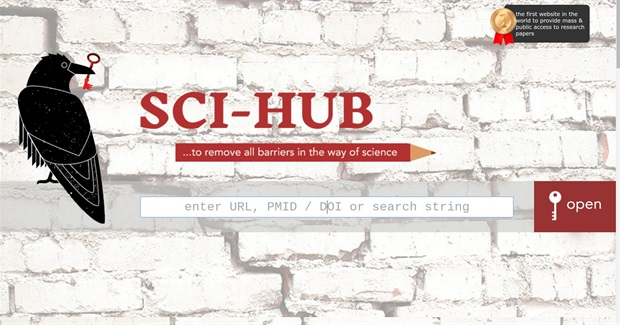 "Sci-Hub Tears Down Academia's ""Illegal"" Copyright Paywalls"