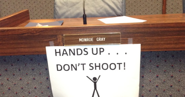 Indianapolis Council Rejects Ferguson-inspired Sign ban
