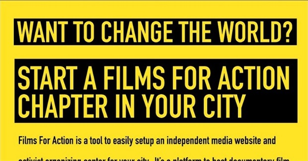 Start a Films For Action Chapter in Your City
