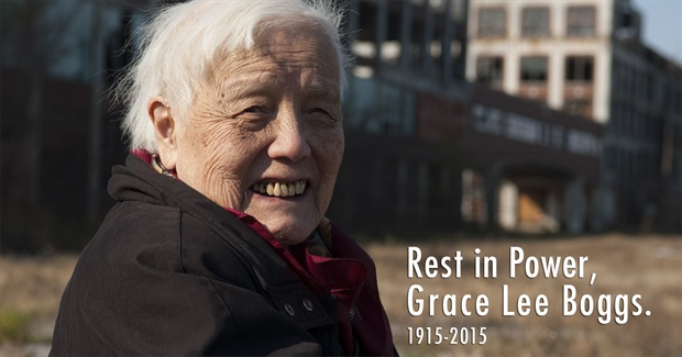 How to Sustain Your Activism: What Grace Lee Boggs Would Have Taught Us