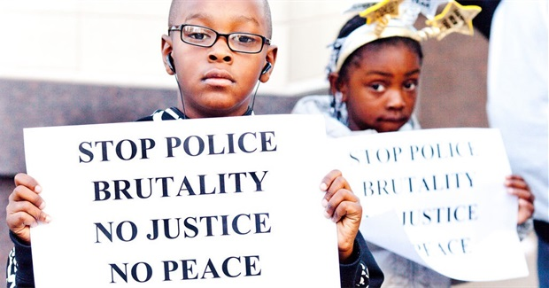 March Against Police Violence - Lawrence, Kansas