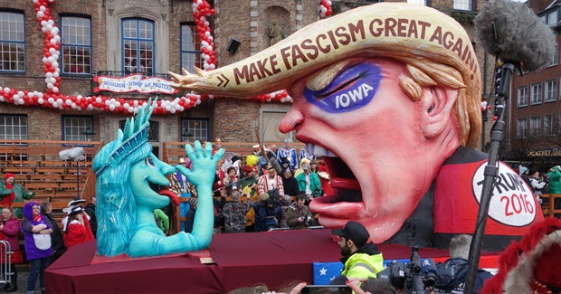 A Great Hot Air Balloon: Donald Trump and Fascist Kitsch