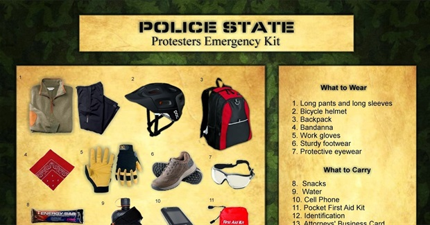 Protesting in the Time of Police State