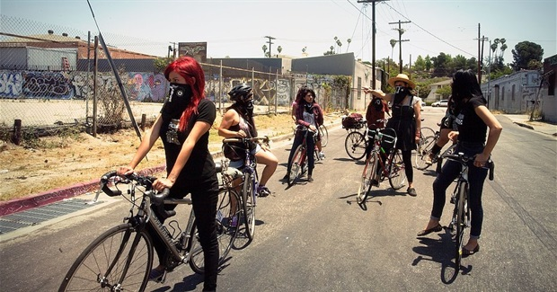 This All-Women Bike Crew Is Running Gentrifiers Out of Town