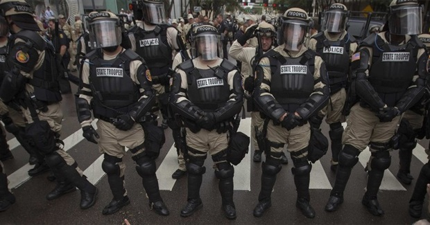 The Ecology of a Police State