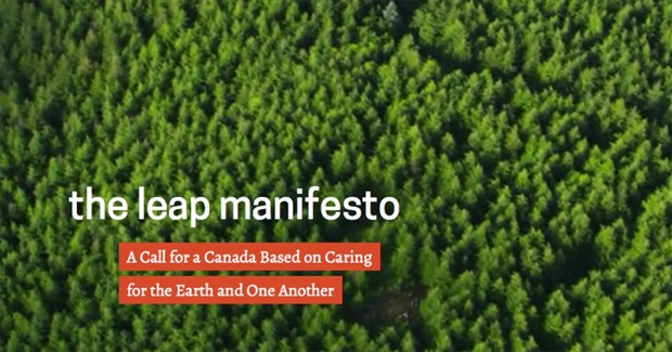 The Leap Manifesto: A Call for Caring for the Earth and One Another