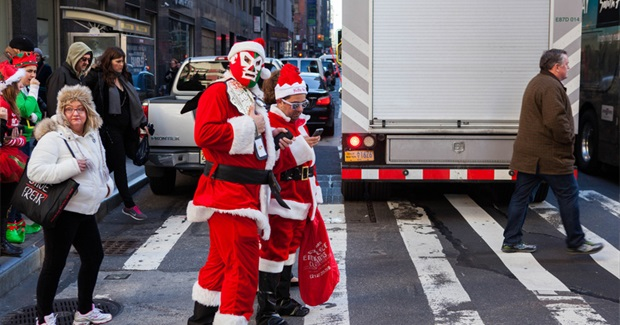 The Danish Anarchists Who Inspired Santacon Could Not Have Imagined It's Bro-Hell Future