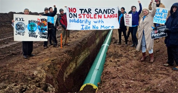 Revealed: Undercover Agents Infiltrated Tar Sands Resistance Camp to Break up Planned Protest