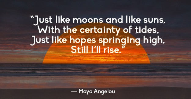and still i rise by maya angelou pdf