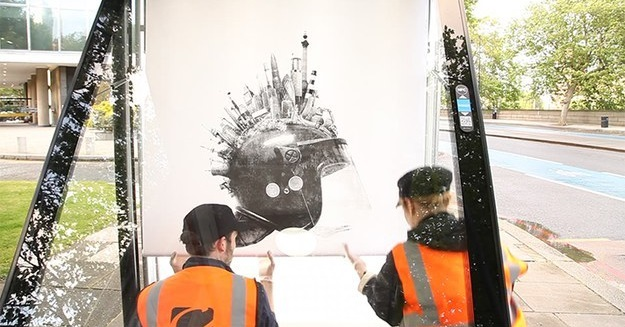 Street Artists Just Pulled Off The Largest Advertising Takeover In World History