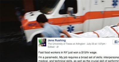 Paramedic's Response to