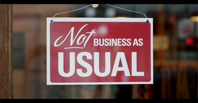 Not Business As Usual (2014)